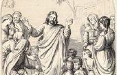 Bijbel ambachten voor de kleine kinderen die tot Jezus komen