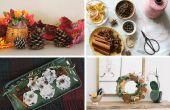 9 manieren om uw huis ruikt kerst