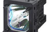 Het wijzigen van de Lamp in een Sony LCD TV