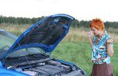 Kan ik rijd mijn auto met een lekkende Radiator?