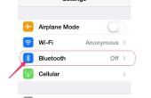 Hoe verzenden iPhone muziek met een auto-ontvanger met Bluetooth