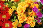 Hoe gebruik kunstbloemen als Decor van het huis