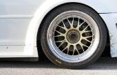Hoe krijg ik echt Tough Road Grime & zout op mijn aluminium wielen?