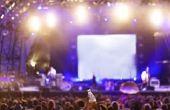 Hoe maak je een teken voor een Concert