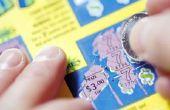 Hoe om een belastingaangifte op het winnen van de loterij