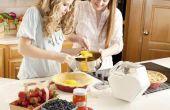 Koken benodigdheden voor de chef-kok van de tiener