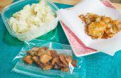 Hoe te bevriezen van gekookte aardappelen