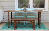 Hoe maak je je eigen houten tafel