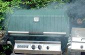 Hoe te roken vlees met houtsnippers op een propaan-Grill