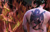 Hoe te verwijderen een Tattoo met een zure Peel