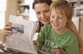 Hoe leren kinderen om te schrijven van een persbericht