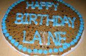 Hoe maak je een verjaardag-Cookie