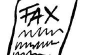 Hoe vindt een adres met behulp van een faxnummer