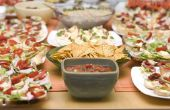 Ideeën voor partij Buffet eten