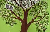 Hoe te schilderen van een boom op een muur