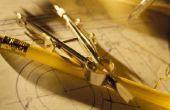 Hoe maak je een kompas thuis voor geometrie