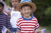 Hoe leren kinderen over the Fourth of July