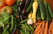 Hoe te bevriezen van verse groenten