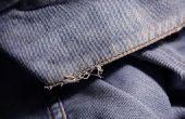 Hoe maak je een Jean jas kijk gedragen