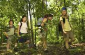 Regels voor Wilderness Survival voor kinderen