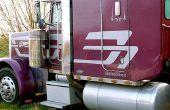 Hoe maak je een Checklist voor een inspectie van de vrachtwagen trekker