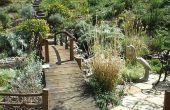 Hoe te ontwerpen en bouwen van een tuin-brug