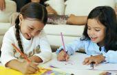 Hoe maak je een kunst vak voor een kind