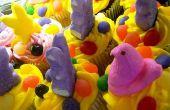 Marshmallow gluren kunst projecten