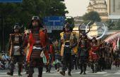 Traditionele Japanse Samurai kleding