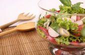 Hoe salades worden bediend