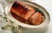 Hoe om te koken zonder been varkensvlees terug lendenen