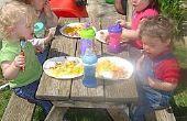 How to Build een houten picknick bankje