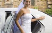 Bruiloft jurk vormen om te minimaliseren van de heupen