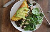 Omega-3 vegetarische Omelet recept