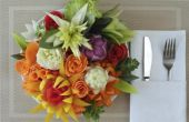 Hoe maak je groente bloemen