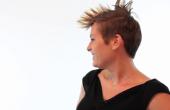 Hoe maak je een Mohawk met kort haar