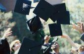 Hoe maak je afstuderen Caps uit papier