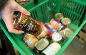 Hoe bewaart u voedsel voor overleving op lange termijn