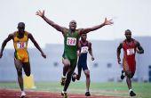 Hoe te berekenen van de afstand rond een atletiekbaan door Lane