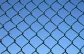 How to Fix de onderkant van een ketting lengte hek om te houden van honden