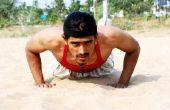 Hip Push-Up oefening voor mannen
