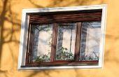Hoe Windows buiten wassen zonder het verwijderen van de schermen