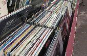 How to Make van een portemonnee uit oude Vinyl Record Albums 33 LPs