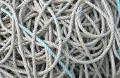Hoe te de knoop van de keten een touw