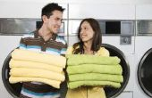 Hoe krijg ik zachte handdoeken met behulp van een wasmachine Front-loader