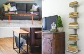 10 kleine ruimte Meubelen DIY oplossingen