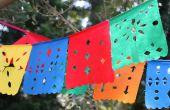 Papel Picado: DIY Mexicaanse knipsel vlaggen
