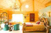 Rustieke slaapkamer kleuren