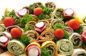 How to Make Wrap Sandwiches voor partij Platters