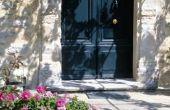 Buitenkant huis kleuren die met steen werken